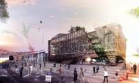 Il rendering del progetto vincitore per il Padiglione Italia a Expo 2015